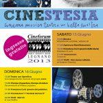 Locandina Cinestesia 2013 (seconda versione)