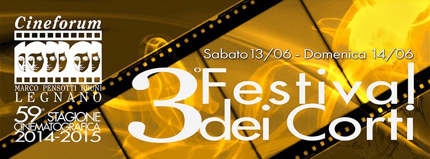 Banner 3° Festival dei Corti