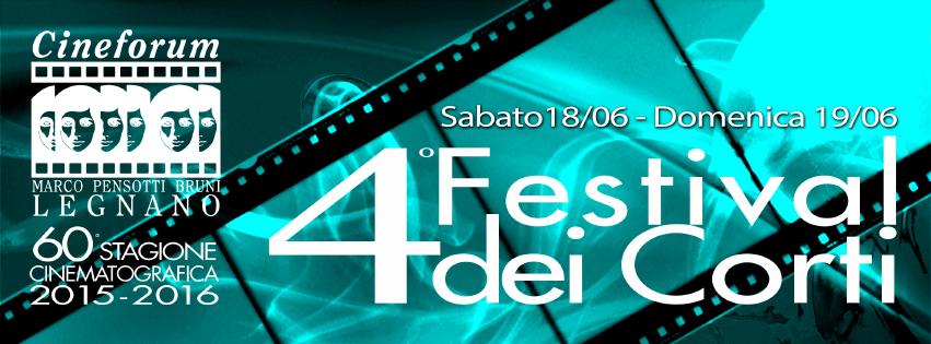 Banner 4° Festival dei Corti