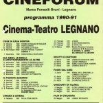 Volantino Stagione 1990-1991