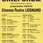 Volantino Stagione 1993-1994