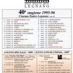 Volantino Stagione 1995-1996