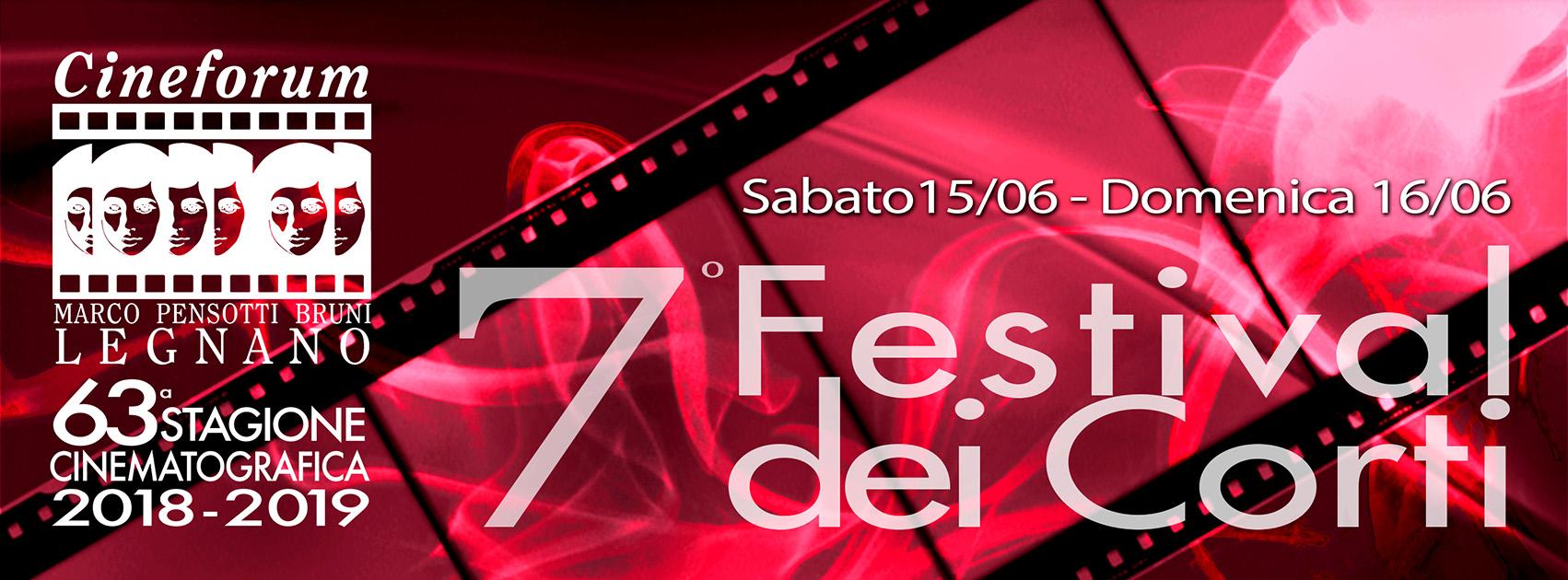 Banner 7° Festival dei Corti